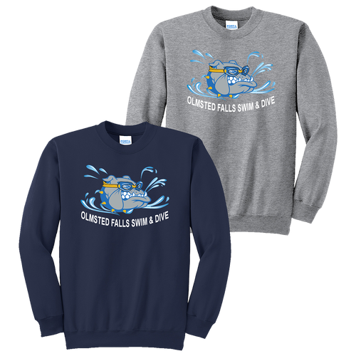 Bulldogs Swim & Dive Crewneck