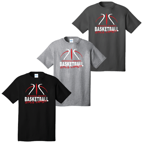 Cuyahoga Heights Girls Basketball Tee