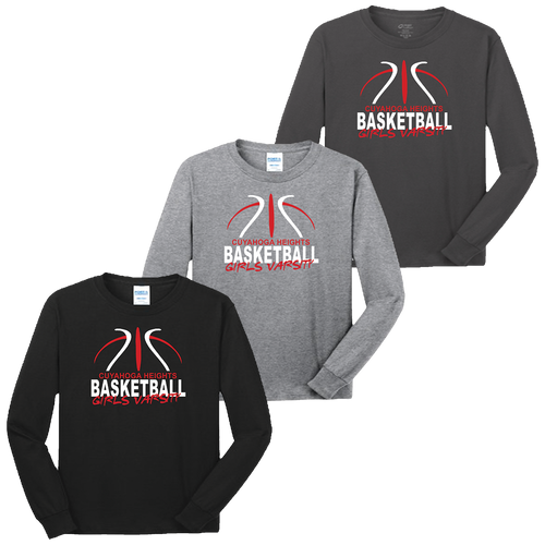 Cuyahoga Heights Girls Basketball LS Tee