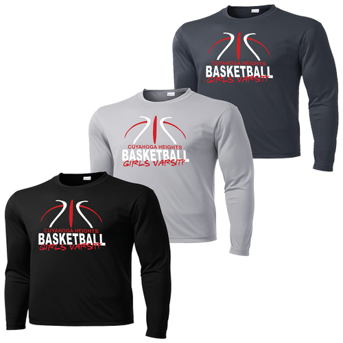 Cuyahoga Heights Girls Basketball Performance LS Tee