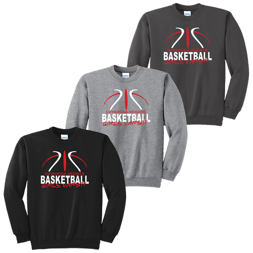 Cuyahoga Heights Girls Basketball Crewneck