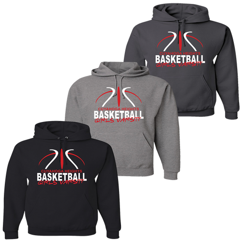 Cuyahoga Heights Girls Basketball Hoodie
