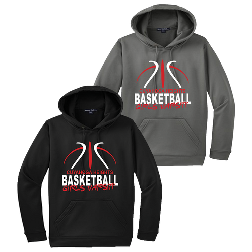 Cuyahoga Heights Girls Basketball Performance Hoodie