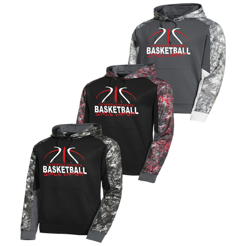 Cuyahoga Heights Girls Basketball Mineral Freeze Hoodie