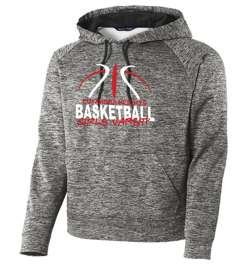 Cuyahoga Heights Girls Basketball Electric Heather Hoodie