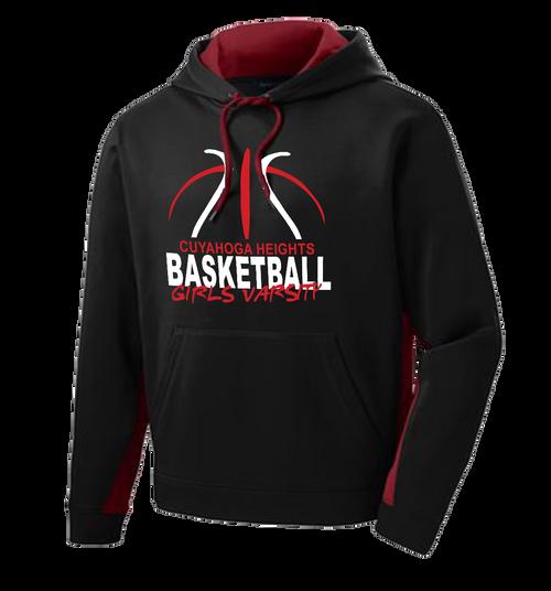 Cuyahoga Heights Girls Basketball Colorblock Hoodie