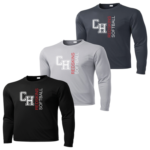 Cuyahoga Heights Softball Performance LS Tee