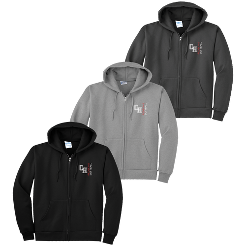 Cuyahoga Heights Softball Full-Zip Hoodie