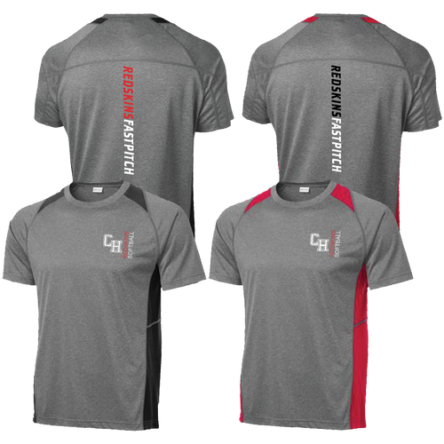 Cuyahoga Heights Softball Colorblock Tee