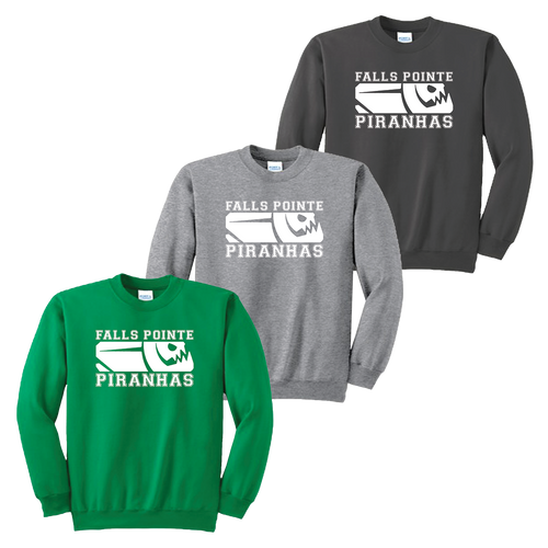 Falls Pointe Piranhas Crewneck