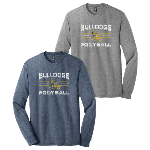 OF Bulldog Football Moms Perfect LS Tee