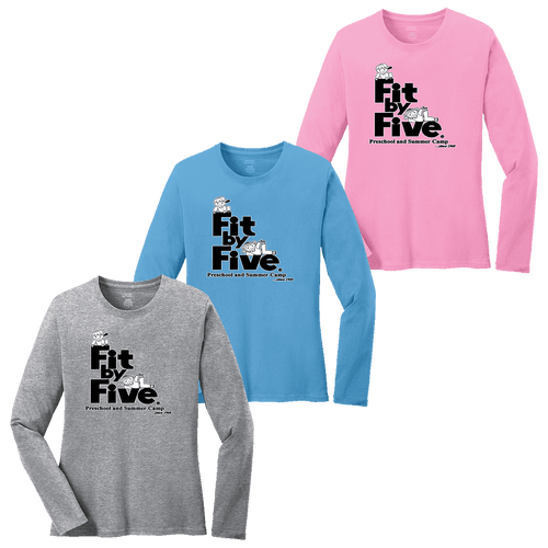 Fit By Five Ladies LS Tee