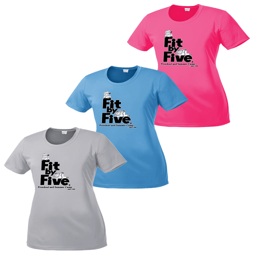Fit By Five Ladies Performance Tee