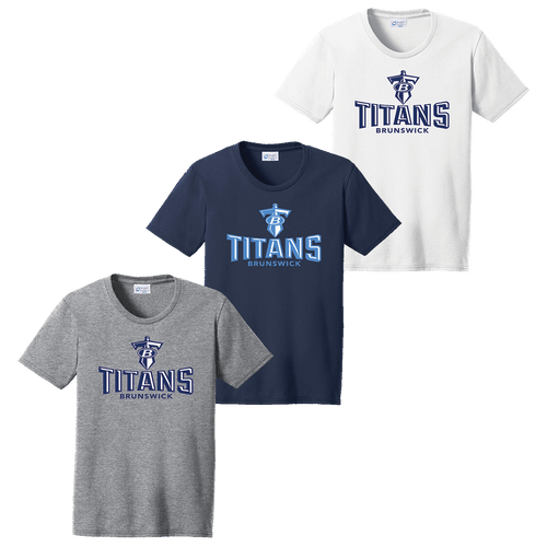 Brunswick Titans Ladies Tee