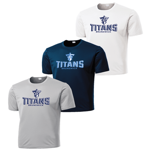 Brunswick Titans Performance Tee