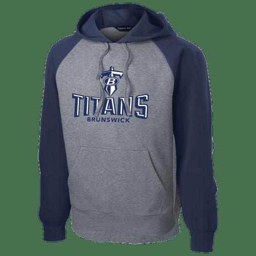 Brunswick Titans Colorblock Hoodie
