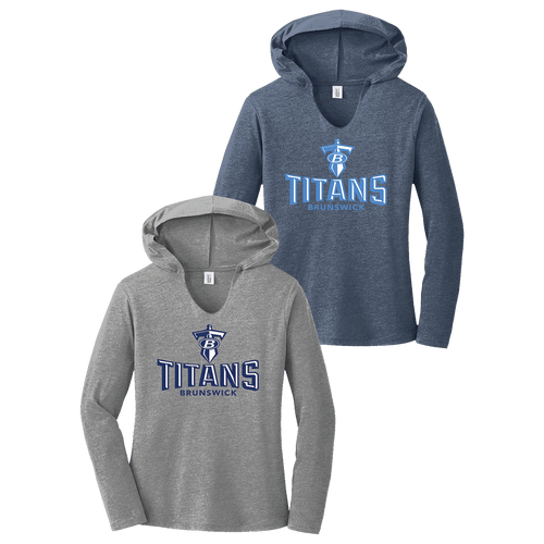 Brunswick Titans Ladies Perfect Tri Hoodie
