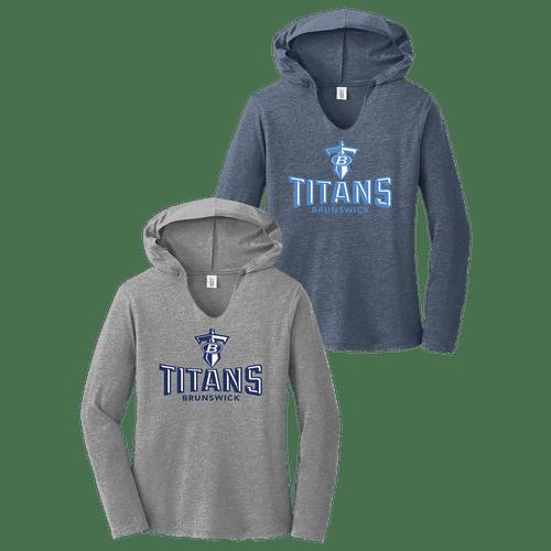Brunswick Titans Ladies Perfect Tri Hoodie
