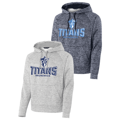 Brunswick Titans Electric Heather Hoodie