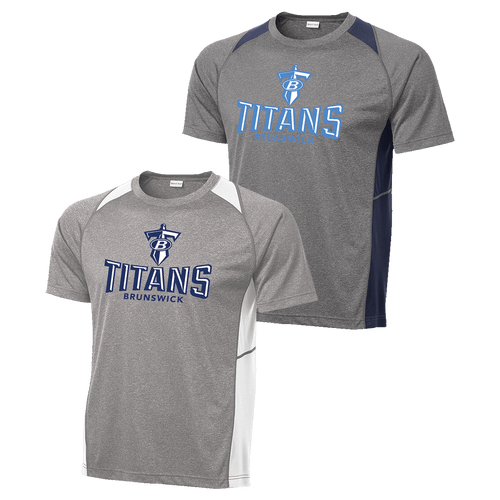 Brunswick Titans Colorblock Contender Tee