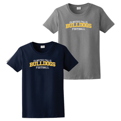 OFAB Bulldog Football Ladies Tee