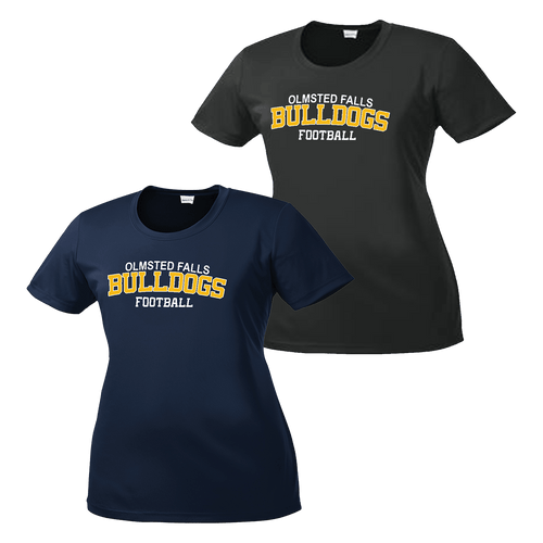 OFAB Bulldog Ladies Performance Tee