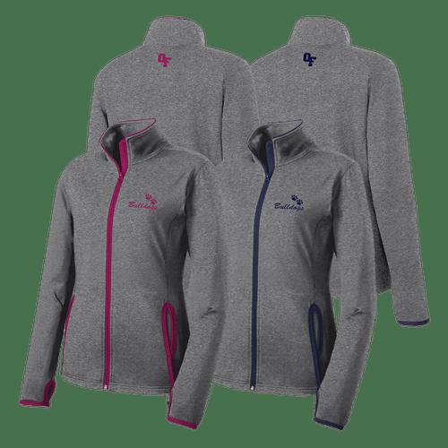 OFAB Ladies Contrast Full-Zip Jacket