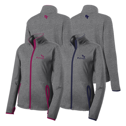 OFAB Ladies Contrast Full-Zip Jacket
