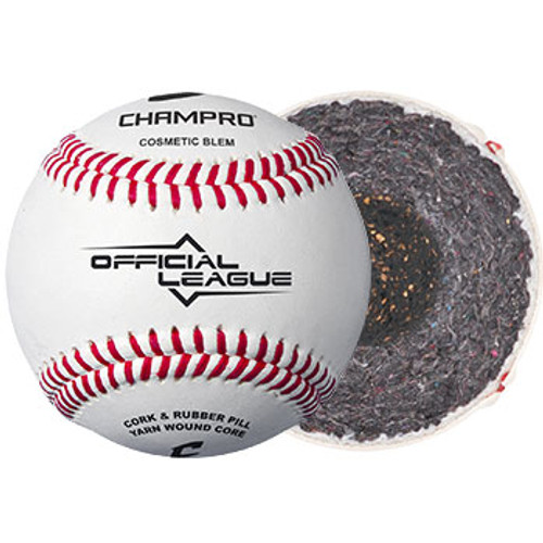 CHAMPRO OFFICIAL LEAGUE - FULL GRAIN LEATHER COVER (COSMETIC BLEM)