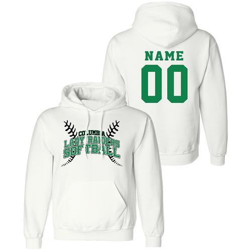 Columbia High School Softball Hoodie (F271)