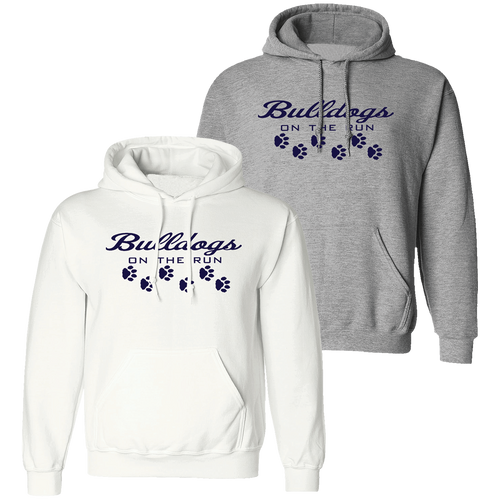 Falls Lenox Bulldogs On The Run Hoodie