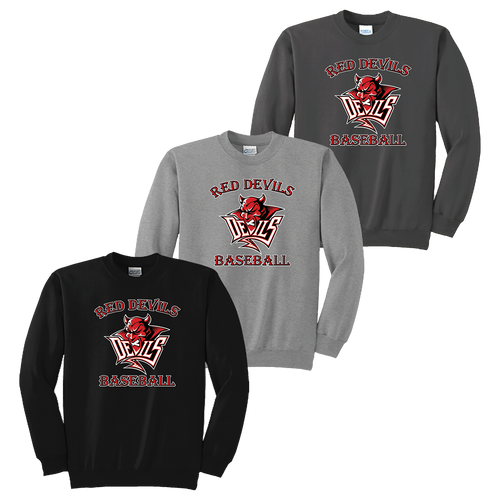 Red Devils Baseball Crewneck