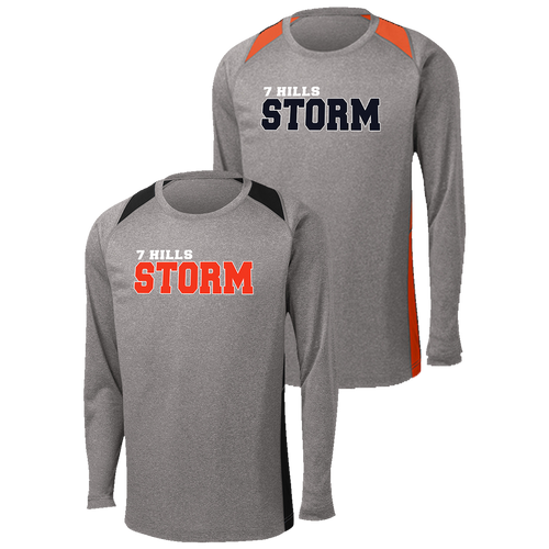 7 Hills Storm Colorblock Contender LS Tee