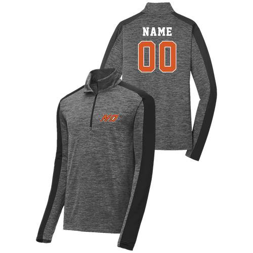 North Olmsted HS Hockey 1/4 Zip Pullover (S179)