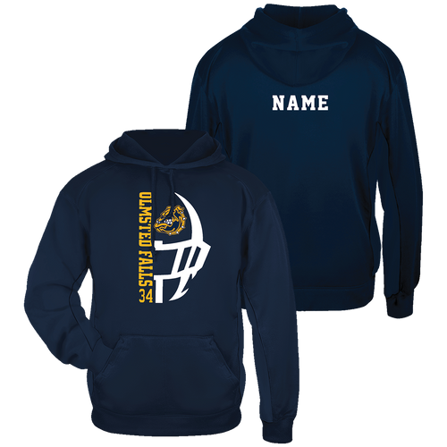 OFHS Football Performance Hoodie - Name on back