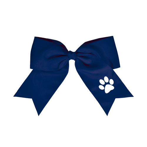 OFMS Cheer Hair Bow (Paw)