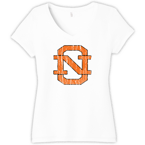 North Olmsted Athletic Boosters Ladies V-Neck Tee (F295)