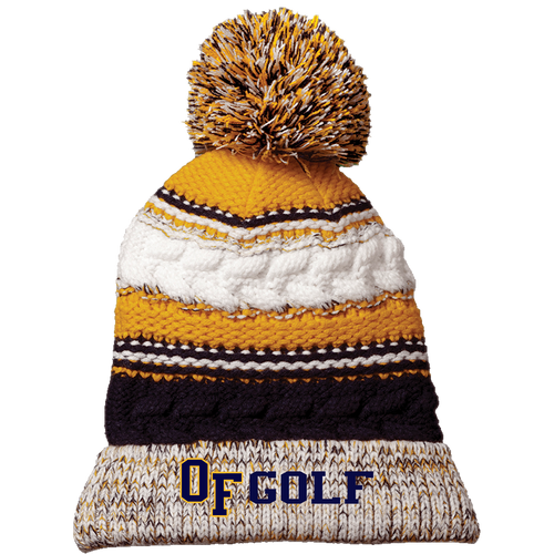 OFHS Girls Golf Pom Pom Beanie (RY396)