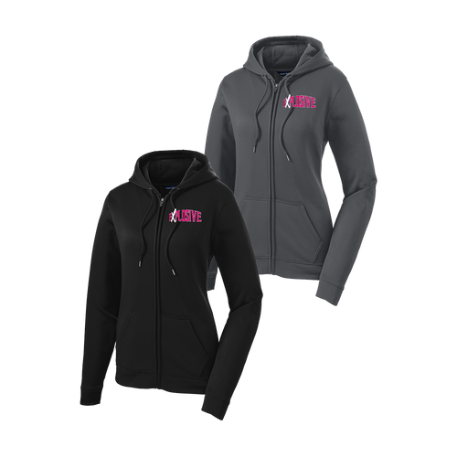 Explosive Fastpitch Ladies Full-Zip Performance Hoodie (RY390A)