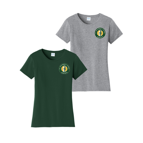 St Columbkille Knights Ladies Tee (S186)