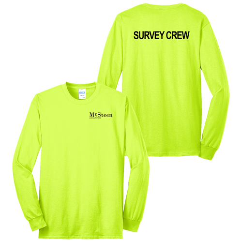 McSteen Land Surveyors Safety LS Tee (S187/C026)