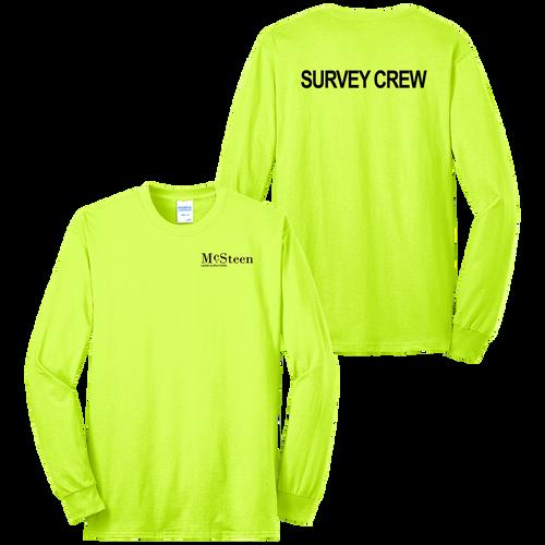 McSteen Land Surveyors Safety LS Tee (S187/C026)