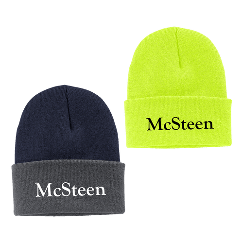 McSteen Land Surveyors Knit Cap (RY407)