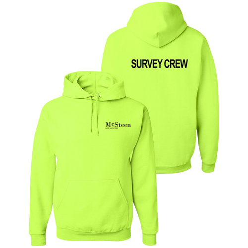 McSteen Land Surveyors Safety Hoodie (S187/C026)