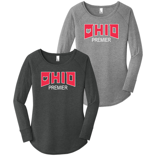 Ohio Premier Girls Lacrosse Ladies LS Tee (F321)