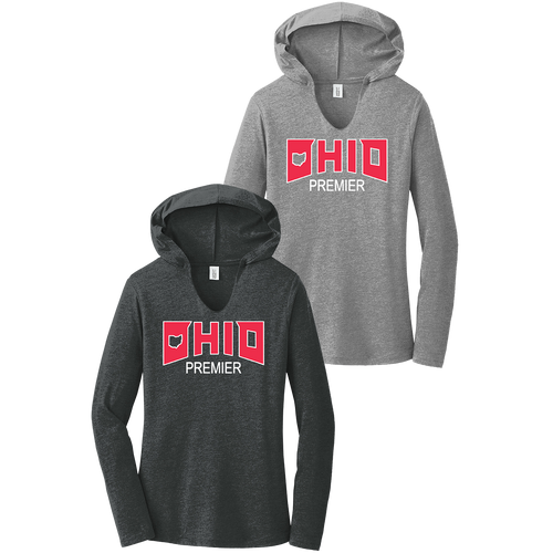 Ohio Premier Girls Lacrosse Ladies Perfect Tri Hoodie (F321)