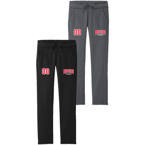 Ohio Premier Girls Lacrosse Ladies Performance Pants (S190)