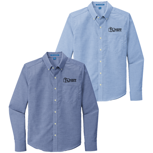 Neff & Associates Untucked Oxford Shirt (RY412)