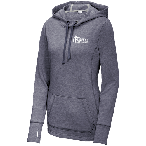 Neff & Associates Ladies Triblend Hoodie (RY413)