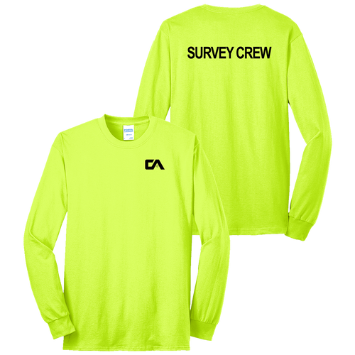 Campbell & Associates Safety LS Tee (S194/C026)